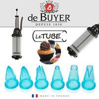 de Buyer - Satz von 6 Garniertüllen für Le Tube