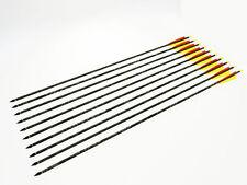 """10 frecce in carbonio mimetica da 80 cm 30"""" per arco 40-60"""