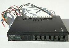 Vintage Kenwood Graphic Equalizer Amplifier Kgc-4030 7 Band Car old school audio