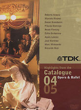 Highlights from the Catalogue - Opera Ballet (Dvd, 2004) New Sealed