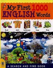 My First 1000 Words: My First 1000 English Words : A Search and Find Book by...