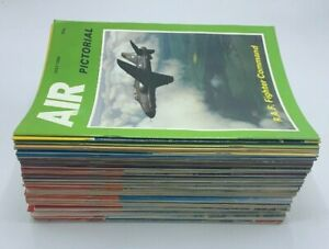 Air Pictorial Aircraft Aeroplane Magazines 49 Issue Job Lot 1972- 1986