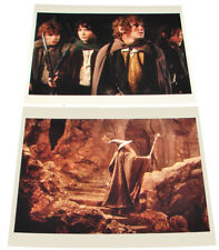 2 LORD OF THE RINGS Movie Press Photos Elijah Wood Ian McKellen Sean Astin LOTR