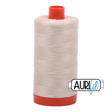 Aurifil 50wt: 2310: light beige 1300m  Quilting cotton thread