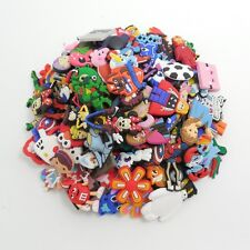 100pcs Different Random Cartoon Shoes Charms for Croc&Jibbitz Silicone Wristband