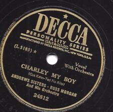 Andrews Sisters: she Wore A Yellow Ribbon + Charley My Boy