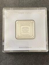 Geiger Edemetalle Original 1 oz 999 Silberbarren Feinsilber in Box zertifiziert