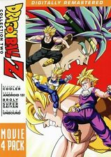 DragonBall Z: Movie 4 Pack - Collection Two [4 Di (2011, DVD NIEUW) WS4 DISC SET