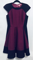 Ted Baker London Womens Size 4/6 Sew in Love Linkah Color Block Dress