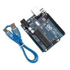Arduino Uno R3 développement microcontrôleur pain ATMEGA328P 16U2 & USB câble