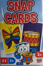 Traditional Games Pack of Colourful Snap Cards (36 Cards) Free Postage to the UK