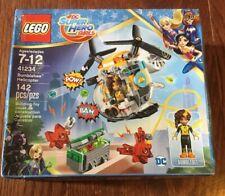 NEW 41234 LEGO DC Super Hero Girls Bumblebee Helicopter Slight Damage to Box
