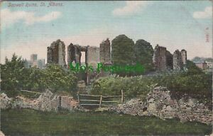 Hertfordshire Postcard - Sopwell Ruins, St Albans  RS24999