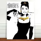 "Vintage Movie Poster Art ~ CANVAS PRINT 8x12"" Audrey Hepburn Spanish"