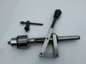 Sensitive Drill Attachment 2MT Shank with JT2 taper Drill Chuck