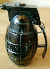 More details for vintage table lighter rare retro ornament metal figure mancave js mk7