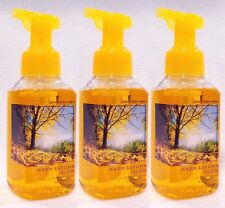 3 Bath Body Works WARM AUTUMN GLOW Foaming Hand Soap