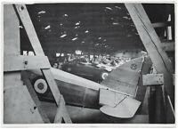 Erbeutete Schul- und Sportflugzeuge. Orig-Pressephoto, von 1940