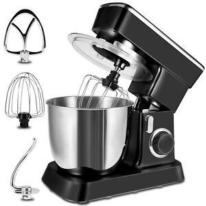 4.5L Electric Tilt-Head Food Mixer 10 Speed 800W Dough Hook Kitchen Cooking