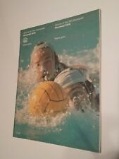 Vintage Montreal 1976 Olympic Game Water Polo Program