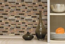ROOMMATES PEEL & STICK BACKSPLASH WALL DECAL APPLIQUES - STICKTILES STONE