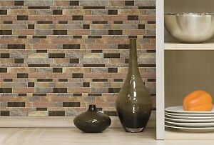 Peel & Stick Backsplash Wall Decals Appliques, Sticktiles Stones