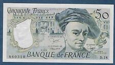 FRANCE - 50 FRANCS QUENTIN DE LA TOUR Fayette n° 67.6 de 1980 en SPL D.18 860310