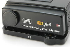 【Excellent+】Mamiya RZ67 Pro 6x6 120 220 Roll Film back Holder Magazine (220-E82