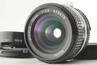 [N.MINT++] Nikon NIKKOR 28mm f2.8 Ai-S AIS Wide Angle MF Lens w/ Hood from JAPAN