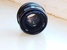 HELIOS-44M-4 2/58mm Russian SLR lens (Pentax, Praktica, Zenit) M42