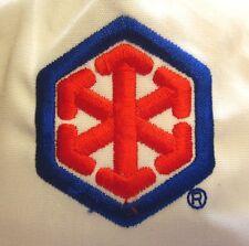 SNOWFLAKE ARROW logo baseball hat 1980s hexagon cap Eden Incentives unknown