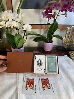 Vintage 2 Decks of KEM Playing Cards+Box+Jokers Classic Pristine Decks RARE