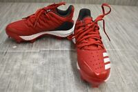 **adidas Icon Bounce TPU AQ0157 Baseball Cleats, Men's Size 4, Red NEW