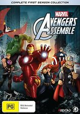 AVENGERS ASSEMBLE : COMPLETE SEASON 1 Box Set  -  DVD  UK Compatible