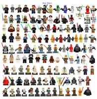 Star Wars Minifigures Stormtrooper Darth Vader Yoda Obi Van Mandalorian New