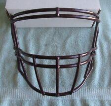 Riddell Speed Flex Maroon Football Face Mask Model 95414 Meets Nocsae Standard