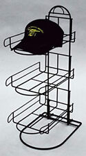 3 Tier Wire Baseball Cap Counter Display Rack Holds 8-10 Hats Per Row