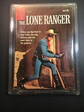 The Lone Ranger Dell Comic #133 VGC With Display Case Wallhanger