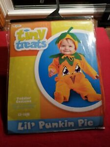 Toddlers Costume Lil Punkin Pie Size 12-18 Months