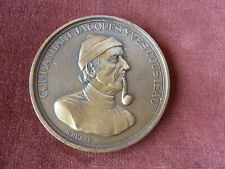 medaille commandant cousteau par Duboc 210 grammes bronze