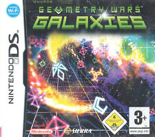 Geometry Wars: Galaxies Nintendo DS 3+ Action Shooter Game