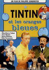 Tintin et les oranges bleues vintage movie poster print #1