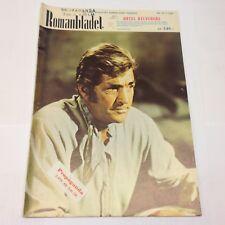 Dean Martin On The Front Cover Photo Vintage 1960s Danish Magazine Romanbladet