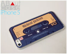 Best iPhone 5 CASE CUSTOM DESIGN Retro vintage Michael Jackson cassette tape