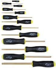 "13pc Set Hex Ball Driver ScrewDrivers .050 - 3/8"" GoldGuard™ Bondhus USA 38637"