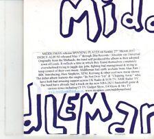 (DP202) Middleman, Spinning Plates - 2011 DJ CD