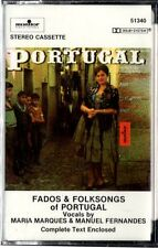 FADOS & FOLKSONGS of PORTUGAL by M. Marques & M. Fernandes ** Sealed Cassette