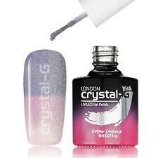 Crystal-G Colour Changing Range UV LED Soak Off Gel Nail Polish + FREE OPI FILE