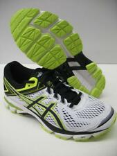 Asics T5A2N GT-1000 4 Running Training Shoes Sneakers White Yellow Boys Mens 7