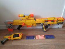 Nerf gun N-Strike bundle longshot sniper rifle maverick pistol + bullets 34.99p